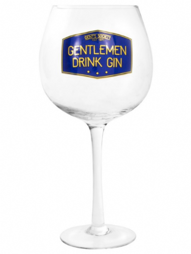 GENTS SOCIETY GIN GLASS